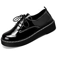 Damen Schuhe Gummi Winter Komfort Outdoor Runde Zehe Für Schwarz