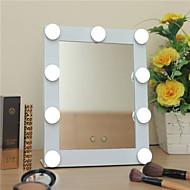 billiga Sminktillbehör-Sminkspegel Smink 1 pcs Plastik / Annat material / Glas Kvadrat Kosmetisk Skötselprodukter