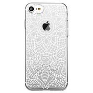 billiga Mobil cases & Skärmskydd-fodral Till Apple iPhone 7 Plus iPhone 7 Mönster Skal Mandala Mjukt TPU för iPhone X iPhone 8 Plus iPhone 8 iPhone 7 Plus iPhone 7 iPhone