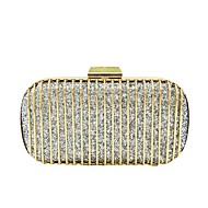 お買い得  クラッチバッグ&イブニングバッグ-女性用 バッグ ポリエステル イブニングバッグ スパンコール のために 結婚式 イベント/パーティー オールシーズン シャンパン ゴールド ブラック シルバー