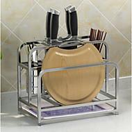 1pcs Cozinha Aço Inoxidável Organizadores de talheres