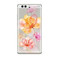 お買い得  携帯電話ケース-ケース 用途 Huawei P9 P10 クリア パターン バックカバー フラワー ソフト TPU のために Huawei P10 Plus Huawei P10 Lite Huawei P10 Huawei社P9 Huawei社P9ライト Huawei P9 lite