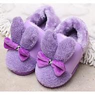 baratos Sapatos de Menina-Para Meninas Sapatos Flanelado Outono / Inverno Conforto Chinelos e flip-flops para Roxo / Amarelo / Fúcsia