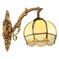 tanie Kinkiety Ścienne-Wiejski Retro/Vintage Lampy ścienne Na Living Room Sypialnia Domowy Metal Światło ścienne IP20 110-120V 220-240V 5W