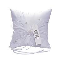 Saten Čipka ring pillow Cvjetni Tema Vjenčanje Sva doba