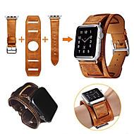 za seriju s jabučnim satovima 3 2 1 originalni kožni remen pametan sat banda zamjenski ručni pojas s nehrđajućeg čelika adapter metalna