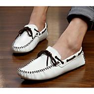 Férfi cipő Bőr Tavasz Ősz Kényelmes Vitorlás cipők Kompatibilitás Hétköznapi Fehér Fekete Sárga
