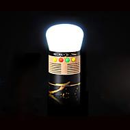 cheap Flashlights & Camping Lanterns-PE-06 Lanterns & Tent Lights / Emergency Lights / Speaker LED 5 Mode Auto-off / Fashionable Design / SD / USB Support Camping / Hiking /