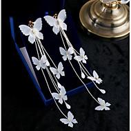女性用 ドロップイヤリング 甘い Elegant シフォンベルベット ジュエリー 用途 結婚式 パーティー