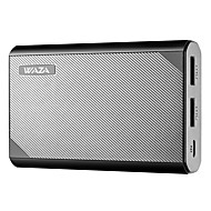 banco de energia 10000mah dual-usb carregamento de alta velocidade 5v 3a e saída inteligente o design mais compacto para iphone, samsung, etc.