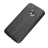 billiga Mobil cases & Skärmskydd-fodral Till Motorola G5 Plus G5 Stötsäker Frostat Skal Ensfärgat Mjukt TPU för Moto Z2 play Moto G5 Plus Moto G5 Moto E4 Plus Moto C plus