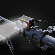 Led Lys Led Brikke sykkel glødelamper Frontlys til sykkel LED XM-L2 T6 Sykling Glimt LED Lommelykt Vannavvisende Energisparing Proff USB