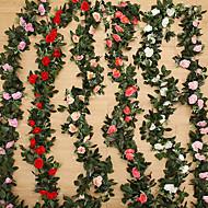 billige Kunstig Blomst-Kunstige blomster 1 Afdeling Moderne Stil / Bryllup Roser / Planter Bordblomst