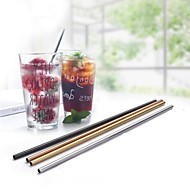 cheap -Drinkware Stainless Steel Straws Portable 1pcs