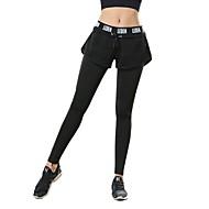 Žene Nadrágok Fitness, trčanje & Yoga Hlače Yoga Pilates Trčanje Poliester Obala Crn Plava S M L XL