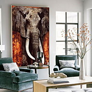 cheap Framed Arts-Animals Oil Painting Wall Art,Alloy Material With Frame For Home Decoration Frame Art Living Room