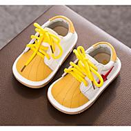 男の子 靴 レザー 春 秋 コンフォートシューズ 赤ちゃん用靴 スニーカー のために カジュアル ブラック イエロー ピンク