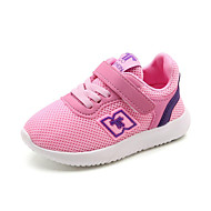 cheap Girls' Shoes-Girls' Shoes Breathable Mesh Spring Summer Light Soles First Walkers Comfort Athletic Shoes Running Shoes Hook & Loop Gore for Athletic