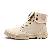 Homens sapatos Couro Sintético Outono / Inverno Conforto / Coturnos Botas Botas Curtas / Ankle Preto / Cinzento / Khaki