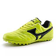 cheap Men's Athletic Shoes-Men's Shoes Leather Spring Fall Comfort Athletic Shoes Soccer Shoes Lace-up for Casual Black Green