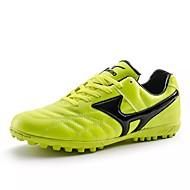 preiswerte Fußballschuhe-Herrn Schuhe Leder Frühling Herbst Komfort Sportschuhe Fußball Schnürsenkel für Normal Schwarz Grün