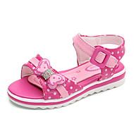 tanie Obuwie dziewczęce-Dla dziewczynek Buty Derma Wiosna Jesień Comfort Sandały na Casual White Purple Peach Różowy