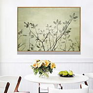 billige Innrammet kunst-Botanisk Olje Maleri Veggkunst,Legering Materiale med ramme For Hjem Dekor Rammekunst Spisestue