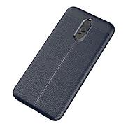 billiga Mobil cases & Skärmskydd-fodral Till Huawei Mate 10 lite Mate 10 Frostat Läderplastik Skal Ensfärgat Mjukt TPU för Mate 10 Mate 10 pro Mate 10 lite Huawei