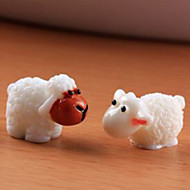 cheap Decorative Objects-Analog, Resin Animals Animal Design for Home Decoration Gifts 3pcs