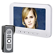 cheap -7 Inch TFT Video Door Phone Doorbell Intercom Kit 1-camera 1-monitor Night Vision with HD 700TVL Camera