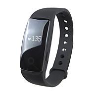 tanie Inteligentne zegarki-Inteligentny zegarek ID107 na iOS / Android Pulsometr / Spalone kalorie / Długi czas czuwania / Ekran dotykowy / Wodoszczelny Rejestrator snu / Znajdź moje urządzenie / 64 MB / Krokomierze / 350-400