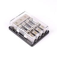 baratos -4 vias / 4x agu em linha de fusível suporte bloco de distribuição estéreo / áudio / carro 60a
