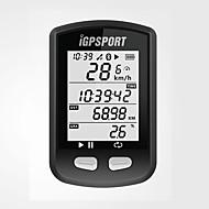 iGS10 Bisiklet Bilgisayarı Su Geçirmez Bluetooth Kablosuz ANT + GPS Konumlandırma, Anti-kayıp Sıcaklık Sensörü GPS Bisiklete biniciliği /