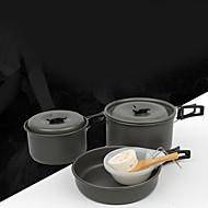 cheap Cookware-Ceramic Stoneware Flat Pan Multi-purpose Pot, 16.7*3.9/16.6*8.9/13.6*6.8