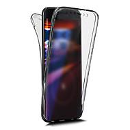 halpa -Käyttötarkoitus iPhone X iPhone 8 kotelot kuoret Other Kokonaan peittävä Etui Yhtenäinen väri Pehmeä TPU varten Apple iPhone X iPhone 8