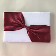 Saten Romantika Fantacy VjenčanjeWithUkrasna trakica 1 paket Box Knjiga gostiju