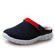 Miehet kengät Tyll Kevät Syksy Comfort Puukengät varten Kausaliteetti Musta Harmaa Sininen Pinkki