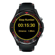 tanie Inteligentne zegarki-Inteligentny zegarek GPS Ekran dotykowy Pulsometr Wodoszczelny Spalone kalorie Krokomierze Video Obsługa multimediów Rejestr ćwiczeń