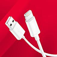 voordelige -mfi gecertificeerde bliksem usb synchroniseren en opladen USB-kabel voor Apple iPhone 7 6s plus se 5s / ipad lucht / ipad mini -white