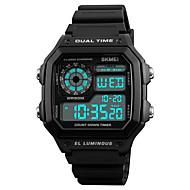 SKMEI Muškarci digitalni sat Ručni satovi s mehanizmom za navijanje Sportski sat Japanski Šiljci za meso Alarm Kalendar Kronograf