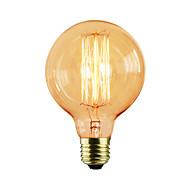 cheap -1pc 40W E27 E26/E27 G80 Warm White K Incandescent Vintage Edison Light Bulb AC 110-130V AC 220-240V AC 85-265V V