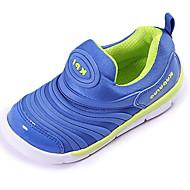 baratos Sapatos de Menino-Para Meninos sapatos Couro Ecológico Primavera Outono Conforto Tênis para Ao ar livre Preto Vermelho Verde Azul Rosa claro