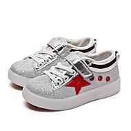 tanie Obuwie chłopięce-Dla chłopców Buty PU Wiosna Jesień Świecące buty Tenisówki LED na Casual Black Czerwony Green