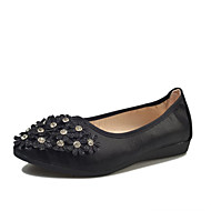 baratos Sapatilhas Femininas-Feminino Sapatos Couro Ecológico Verão Conforto botas de desleixo Sandálias Caminhada Salto Plataforma Dedo Aberto Cristais para Casual