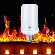 1pc e27 4w 99leds led-liekki-vaikutus palo valo johti maissi valo ac85-265v