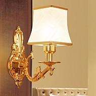 tanie Oświetlenie lustra-Ochrona oczu Oświetlenie łazienkowe Salon Szkła Światło ścienne 220V 9 W / E27
