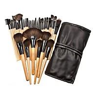 32pçs Pincéis de maquiagem Profissional Conjuntos de pincel / Pincel para Blush / Pincel para Sombra Fibra Sintética / Pêlo Sintético /