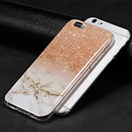 billiga Mobil cases & Skärmskydd-fodral Till Apple iPhone X / iPhone 8 IMD Skal Marmor Mjukt TPU för iPhone X / iPhone 8 Plus / iPhone 8