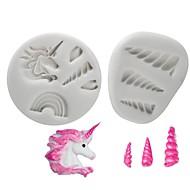 billige Bakeredskap-Cake Moulds Til Småkaker Til Kake Til Sjokolade For kjøkkenutstyr Sjokolade Til Småkake silica Gel GDS Non-Stick Høy kvalitet 3D baking