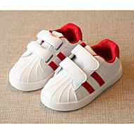 baratos Sapatos de Menino-Para Meninos Sapatos Couro Ecológico Primavera Conforto Tênis para Dourado / Preto / Vermelho